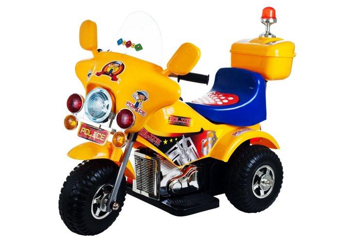 Debutante Police Bike, Yellow