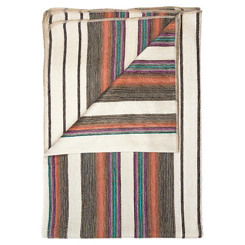 Oasis Alpaca Throw, Beige