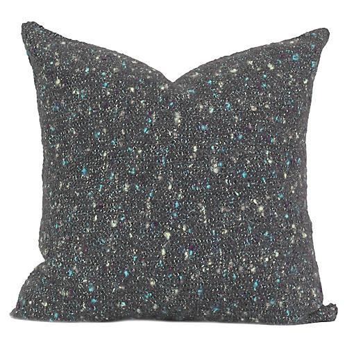 Cayama 20x20 Pillow, Charcoal