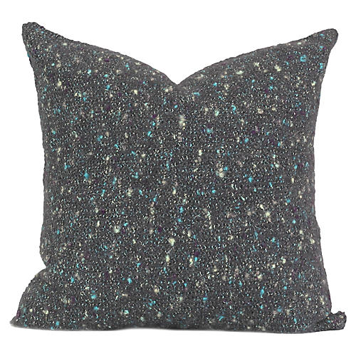 Cayama 20x20 Pillow, Charcoal