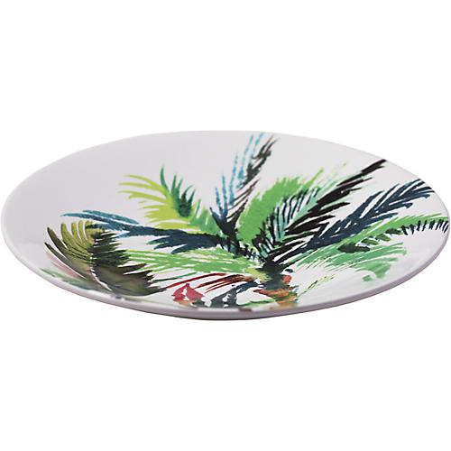 Jardins Trevise Bowl, White/Multi