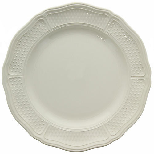Pont Aux Choux Dinner Plate, White