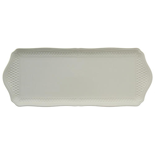 Pont Aux Choux Oblong Serving Tray, White