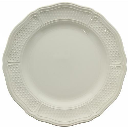Pont Aux Choux Round Platter, White