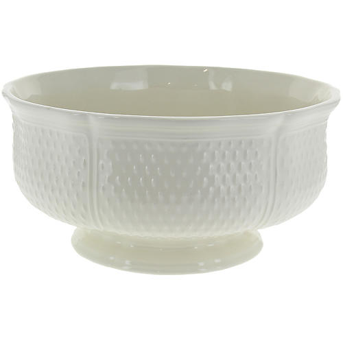 Pont Aux Choux Serving Bowl, White
