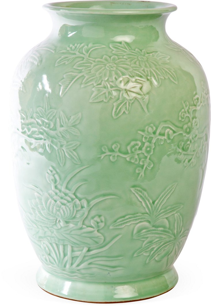 Chinese Lung Vase