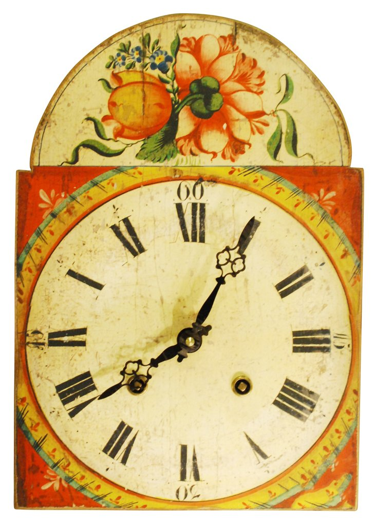 Foret Noire Clock, Red