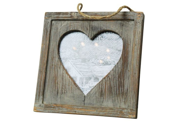 Picture Frame w/ Heart