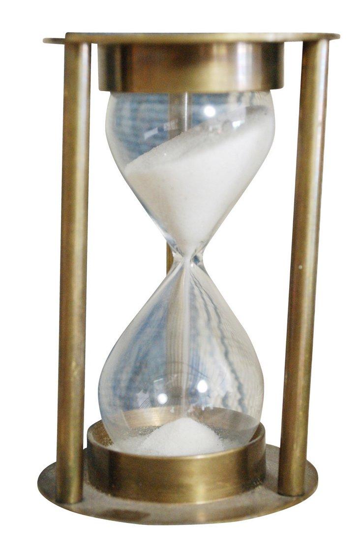 "3"" Brass Hourglass"