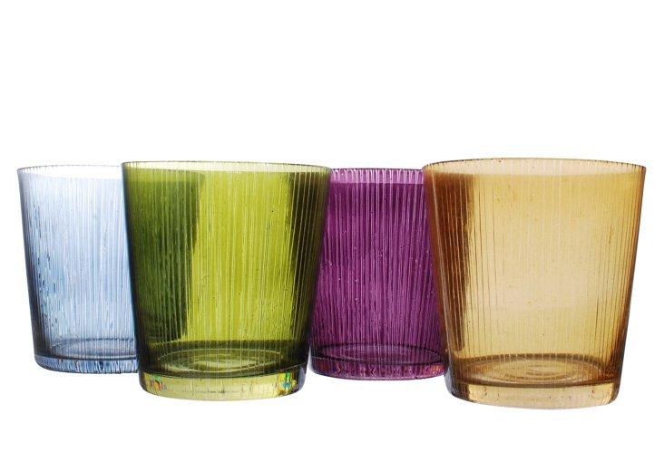 4 Assorted Glasses