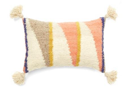 The Diagonal 12x20 Pillow, Multi