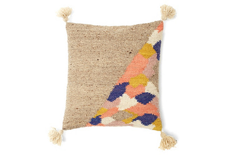 The Split 20x20 Pillow, Multi
