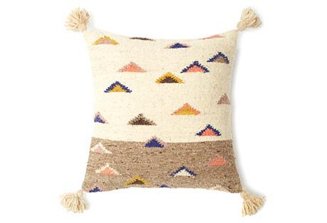 The Mountain 20x20 Pillow, Multi