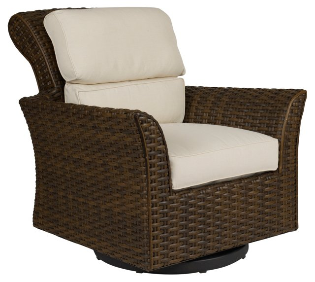 Cameroon Swivel Lounge Chair