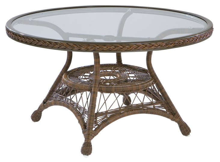 Bar Harbor Cocktail Table, Brown