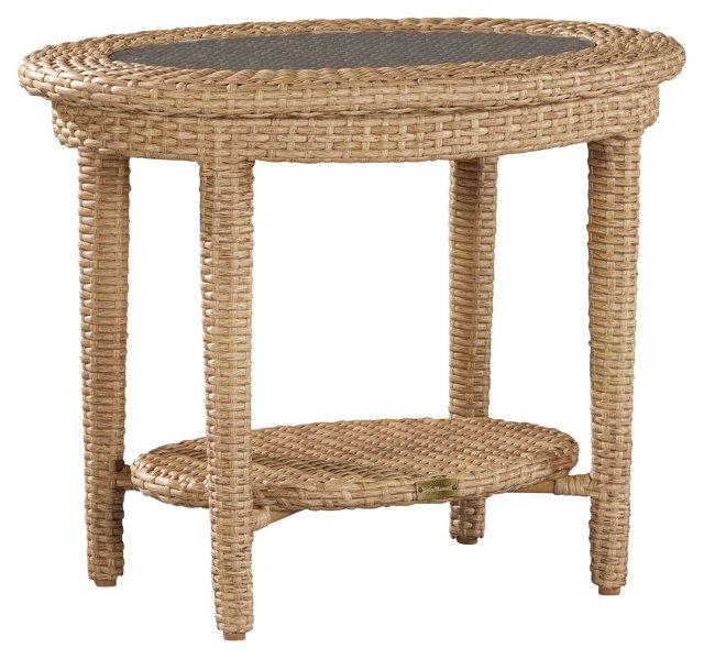 DNU, Dup Moorings Oval Side Table