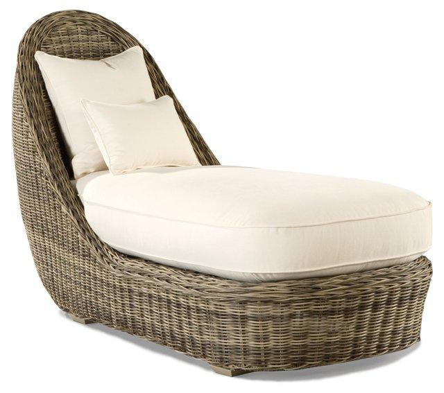 Summer Garden Chaise Longue
