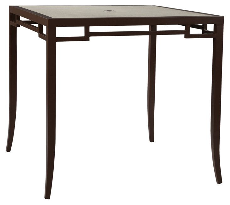 "Redington 45"" Bar Dining Table, w/Glass"