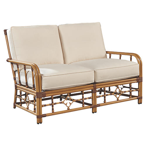 Mimi Loveseat, Canvas Sunbrella