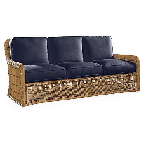 Rafter Sofa, Navy Sunbrella