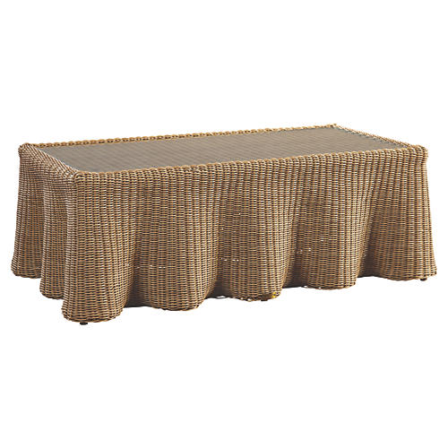 Crespi Rectangular Coffee Table