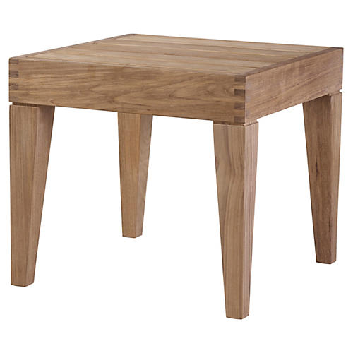 Saranac Side Table, Natural