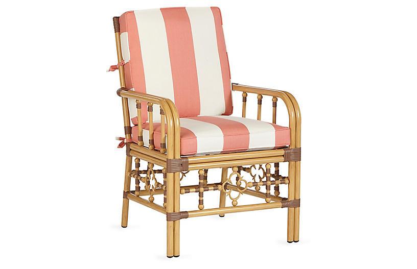 Laguna armchair canvas sunbrella outdoor furniture for One kings lane outdoor furniture