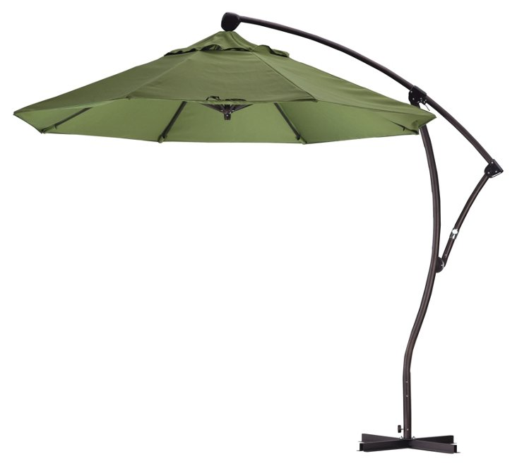 9' Cantilever Umbrella, Palm