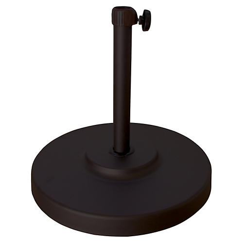 Patio Umbrella Stand, Black
