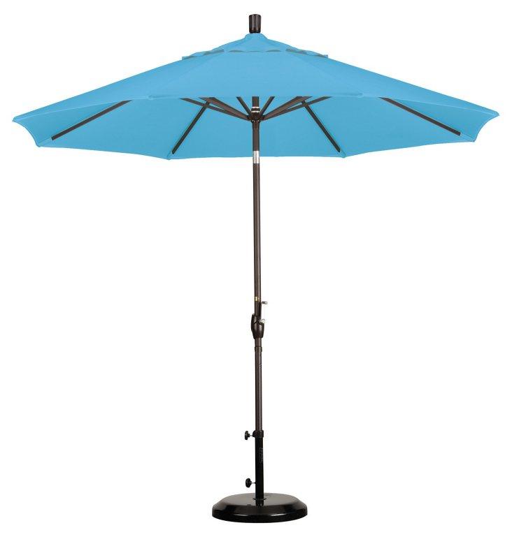 9' Market Umbrella, Bronze/Frost