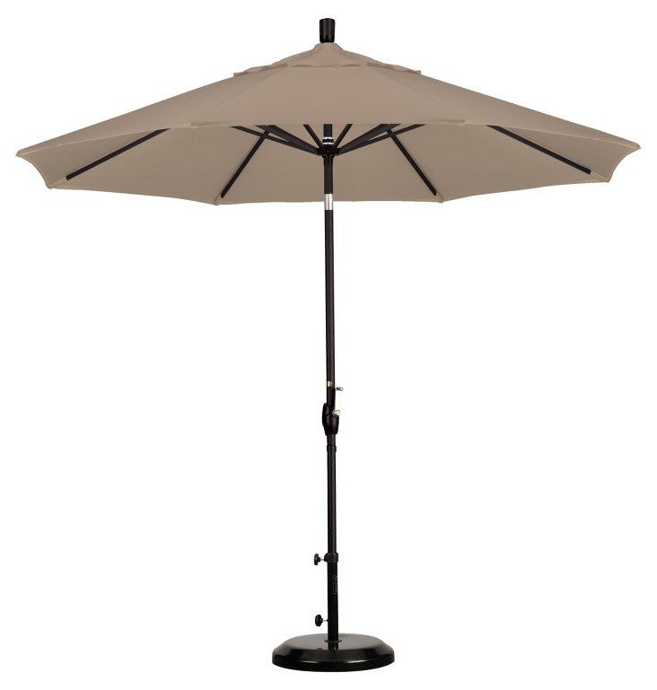 9' Market Umbrella, Antique Beige