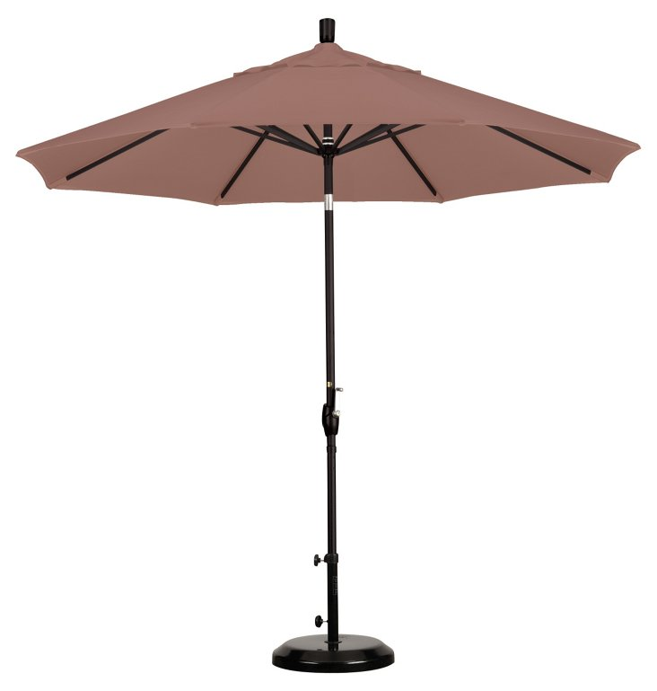 9' Market Umbrella, Straw