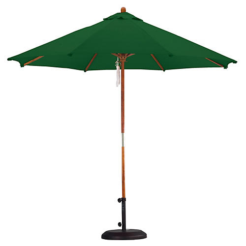 9' Market Umbrella, Hunter Green