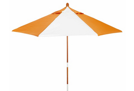 Miami Patio Umbrella, Wood/Tuscan