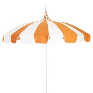 Pagoda Patio Umbrella, Orange   Patio Umbrellas U0026 Stands   Outdoor  Furniture   Outdoor | One Kings Lane