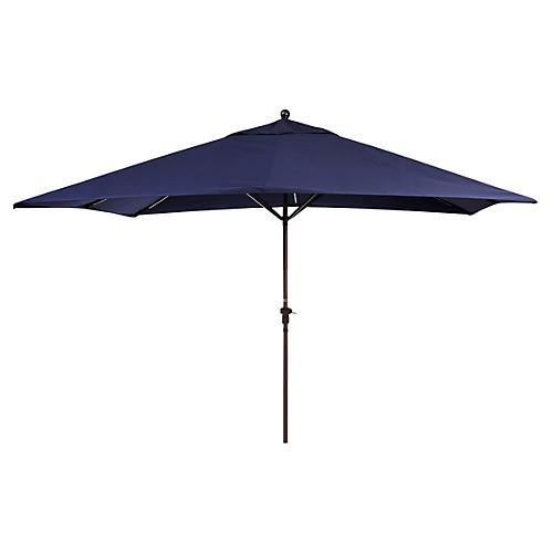 Rectangular Patio Umbrella, Navy
