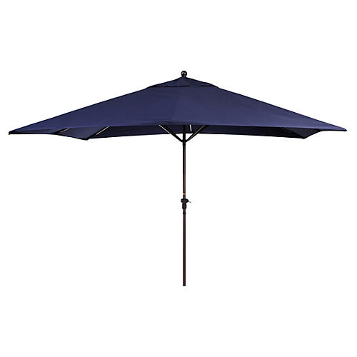 Rectangular Patio Umbrella, Navy