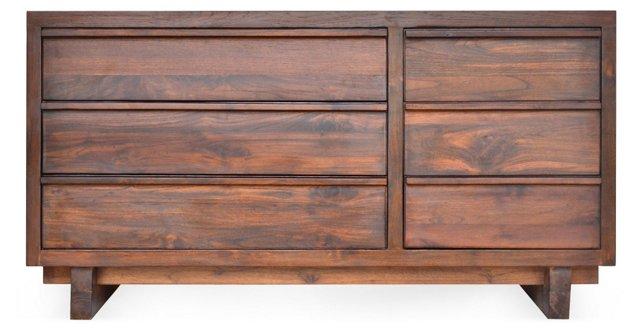 Klasik-Seni 6-Drawer Dresser