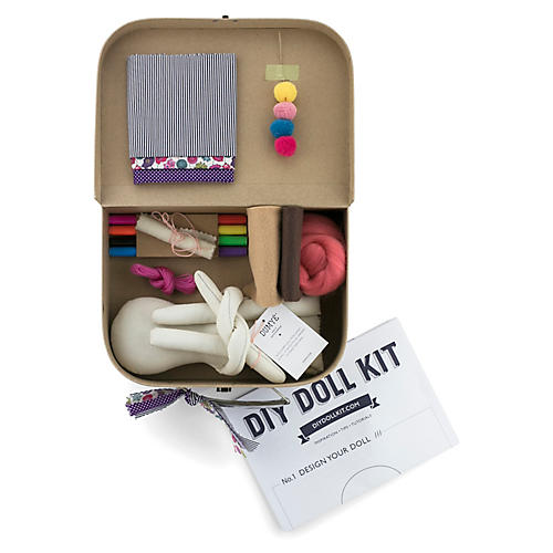 Blossom DIY Toy Doll Kit, Natural/Multi
