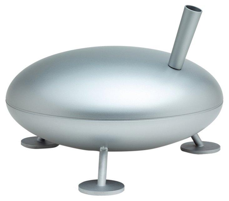 Hot Steam Humidifier, Silver