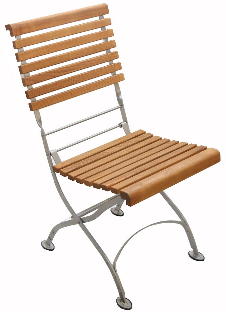 Rosalie Bistro Folding Side Chair