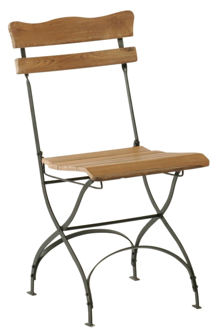 Terrace Teak Folding Chair