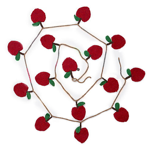 Apple Garland, Red