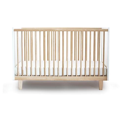 Rhea Crib, Natural