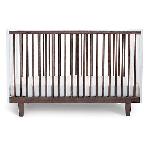 Rhea Crib, Walnut