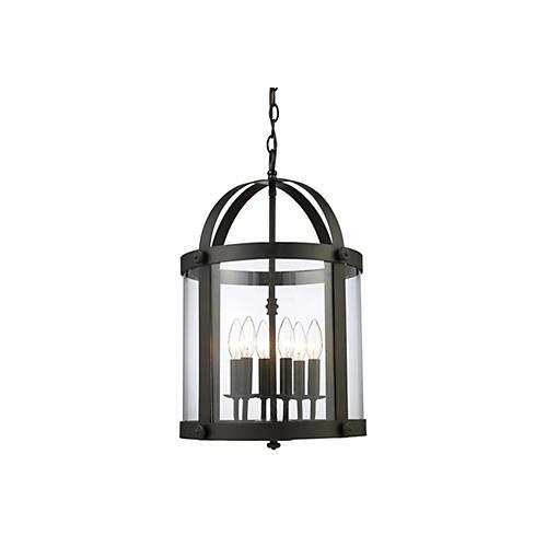 Chesapeake 6-Light Lantern, Bronze