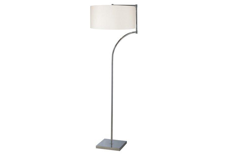 Lancaster Floor Lamp, Chrome