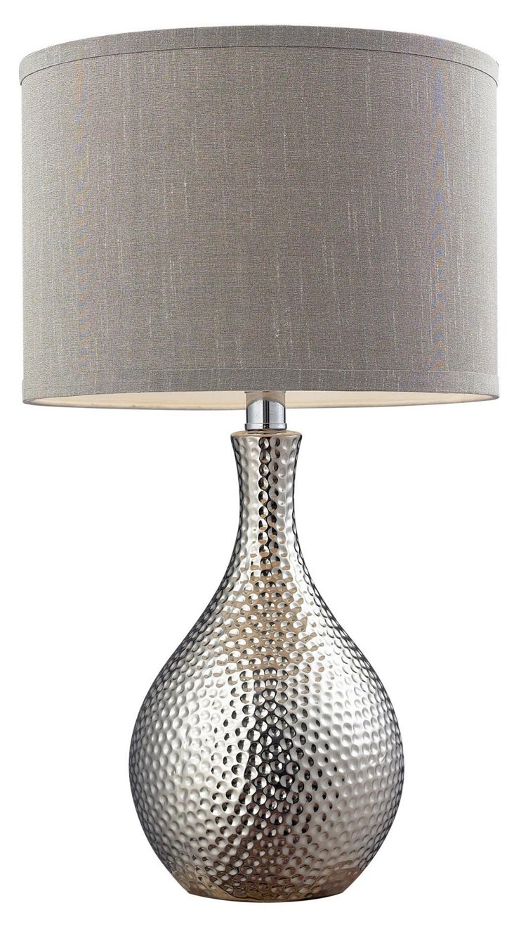 Overexposed Table Lamp