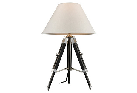 Studio Table Lamp, Black