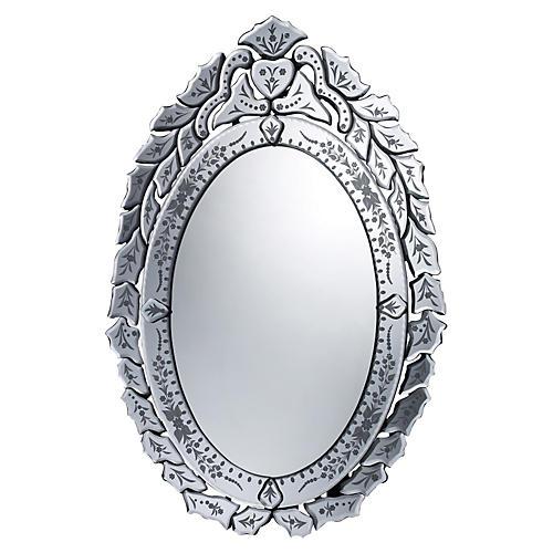 "Erhart 20""x30"" Wall Mirror, Silver"